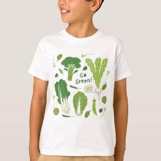 ¡Va el verde! (Verde frondoso!) amigos felices del Playera