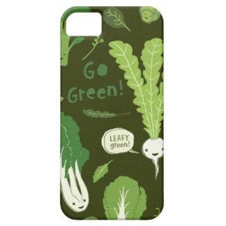 ¡Va el verde! (Verde frondoso!) Veggies sanos Funda Para iPhone SE/5/5s