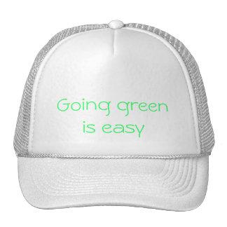 va el verde verde que va es fácil gorras
