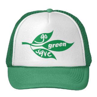 va el verde y ahorra gorros bordados