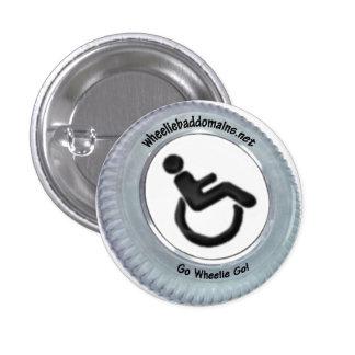 Va el Wheelie Pin Redondo De 1 Pulgada