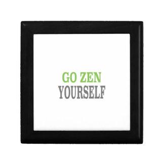 Va el zen usted mismo (la edición verde de la resp cajas de joyas