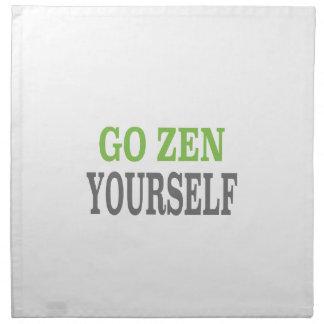 Va el zen usted mismo (la edición verde de la resp servilletas