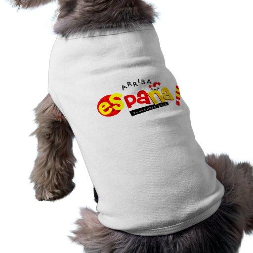¡Va España! artículos Camisetas Mascota