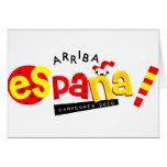 ¡Va España! artículos Tarjeta De Felicitación