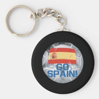 Va España Llavero Redondo Tipo Pin