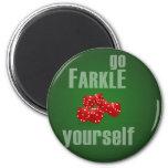 Va Farkle usted mismo Iman Para Frigorífico