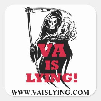 VA IS LYING! STICKERS