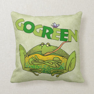 Va la almohada de la tierra verde