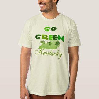 Va la camiseta de algodón orgánica verde de remeras