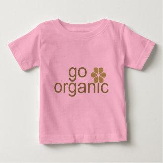Va la camiseta orgánica del bebé playera para bebé