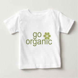 Va la camiseta orgánica del bebé playeras