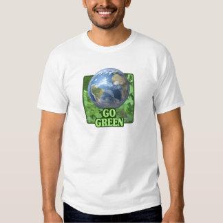 Va la camiseta verde camisas