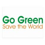 VA la campaña verde Postal