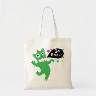 Va la danza verde - - recicla el bolso bolsa