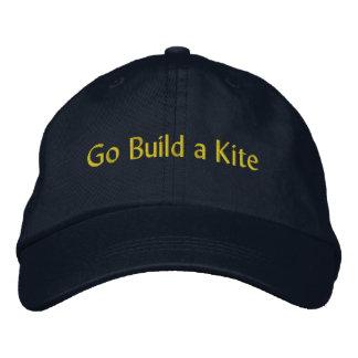 Va la estructura un casquillo de la cometa gorra de beisbol bordada