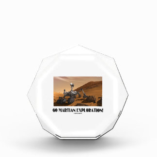 ¡Va la exploración marciana! (Curiosidad de Marte