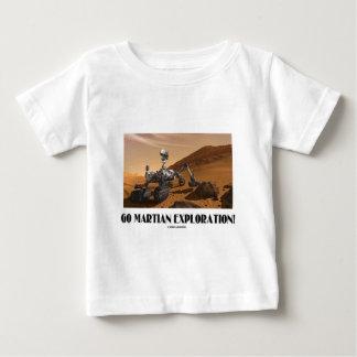 ¡Va la exploración marciana! (Curiosidad de Marte Tee Shirts