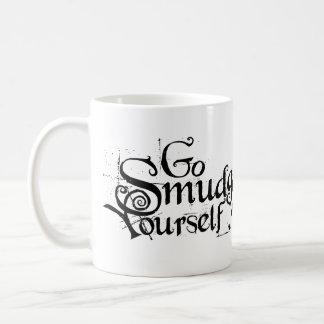 Va la mancha usted mismo taza de café