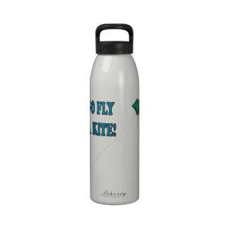 Va la mosca una cometa 2 botella de agua reutilizable