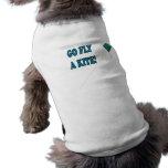 Va la mosca una cometa 2 camiseta de perro