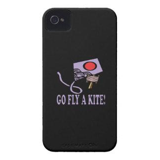 Va la mosca una cometa 3 iPhone 4 Case-Mate fundas
