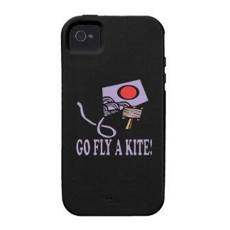 Va la mosca una cometa 3 vibe iPhone 4 fundas