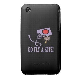 Va la mosca una cometa 3 Case-Mate iPhone 3 cárcasa