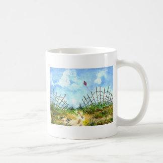 Va la mosca una cometa - acuarela tazas de café