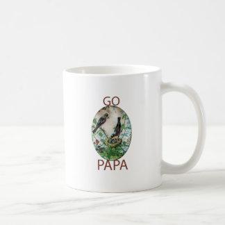 Va la papá taza básica blanca