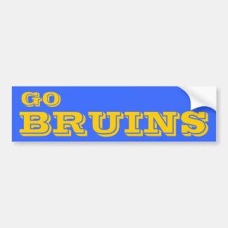 Va la pegatina para el parachoques de Bruins* Pegatina Para Auto