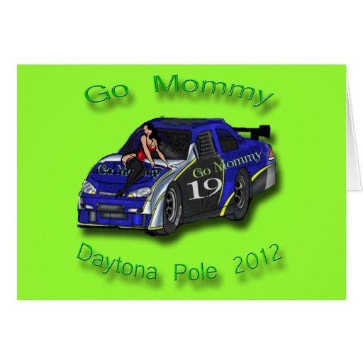 Va la pole position 2012 de Daytona de la mamá Tarjeton