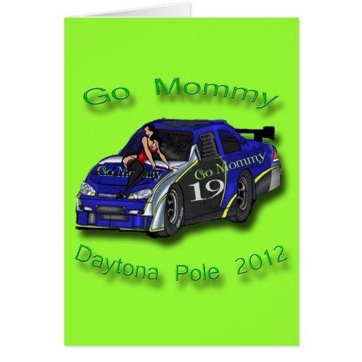 Va la pole position 2012 de Daytona de la mamá Tarjetas