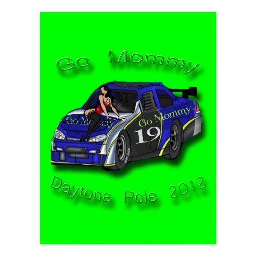 Va la pole position 2012 de Daytona de la mamá Postal