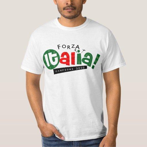 Va la ropa de Italia Playera