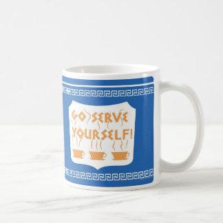 Va la taza del servicio usted mismo