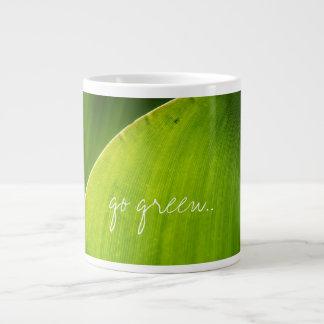 va la taza verde taza grande