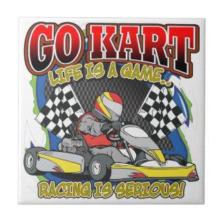 Va la vida de Kart Azulejo Ceramica