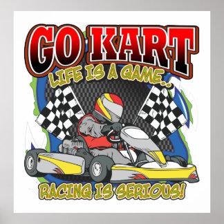 Va la vida de Kart Poster