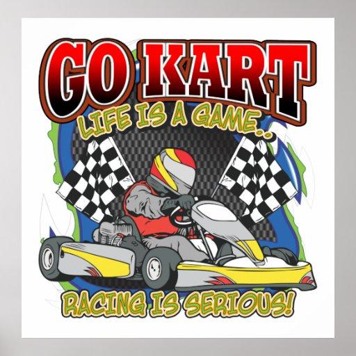 Va la vida de Kart Póster