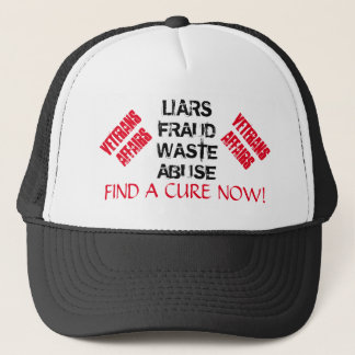 VA LIES, FRAUD, WASTE & ABUSE SURVIVOR AWARENESS TRUCKER HAT