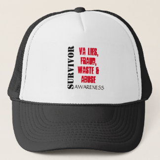 VA LIES, FRAUD, WASTE & ABUSE SURVIVOR HAT