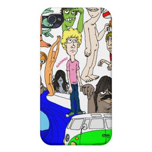 Va Longboard iPhone 4 Carcasas
