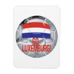 Va Luxemburgo Imán Rectangular