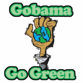 Va Obama va verde Adorno Fotoescultura