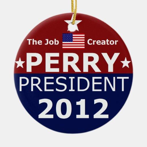 Va Perry 2012 para el árbol de navidad Ornamentos De Reyes