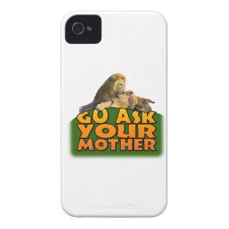 """Va pregunta la caja de Blackberry a su madre"" iPhone 4 Protector"