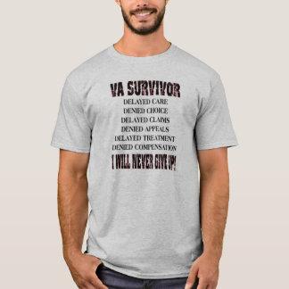 VA SURVIVOR - I WILL NEVER GIVE UP - T SHIRT