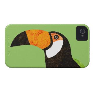 Va Toucan verde Toco Case-Mate iPhone 4 Funda