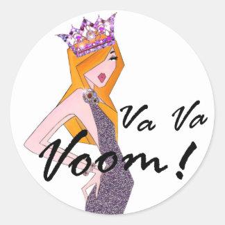 Va Va Voom! Diva Stickers